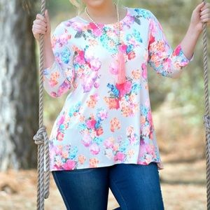 Tops - Perfectly Priscilla blouse size 20/22